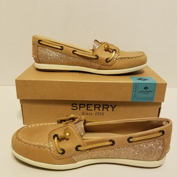 80b819c63084 Sperry Shoes | Topsider Coil Ivy Linen Sparkle Boat | Poshmark